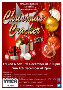 Christmas Cracker Poster 2016